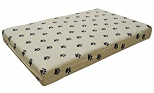 B00IM0V9A0813 Go Pet Club PP-52 Memory Foam Orthopedic Dog Pet Bed, 52 by 40 by 3-Inch, Tan
