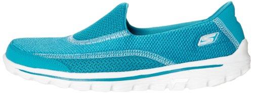 Sandales Walk Bleu Athletic Femme Skechers Go turquoise 2 Pour dqwRtd1W6x
