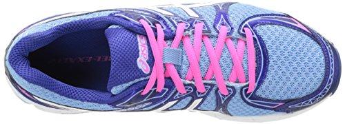 Asics Damesgel-exalt 2 Hardloopschoenen Ice Blue / White / Hot Pink