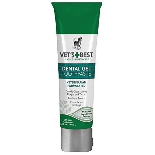 Vet's Best Dental Gel Toothpaste, 3.5 Oz.