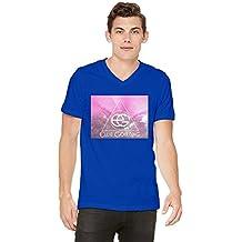 Ellie Goulding Mens V-neck T-shirt X-Large