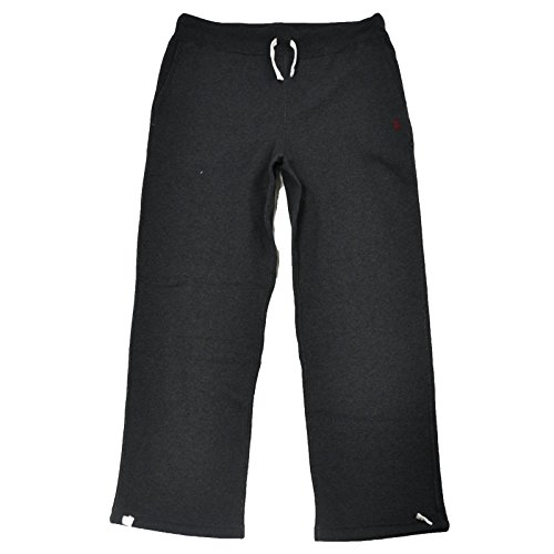 Polo Ralph Lauren Mens Fleece Athletic Pants (Onyx Heather,X-Large)