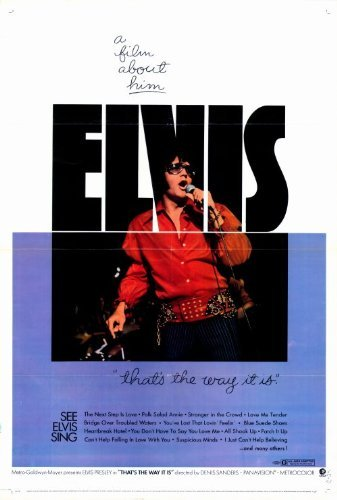 Elvis Movie Poster (Elvis: That's the Way It Is POSTER Movie (27 x 40 Inches - 69cm x 102cm) (1971))