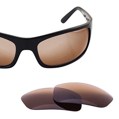 LenzFlip Replacement Lenses for Maui Jim PEAHI - Brown - Maui Peahi Jim