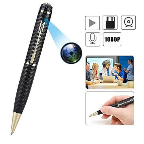 Portable Pen Camera, Full HD 1080P DVRProfessional Stealth Camera, Mini DV Video Recorder, Micro Audio Digital USB Camcorder Real HD Video