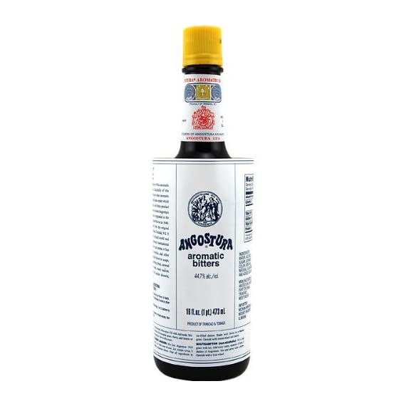 Angostura Aromatic Bitters 16.0 OZ(Pack of 2) 1 Low Calorie Low Fat Low Sodium