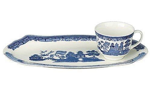 Johnson Brothers Willow Blue Tea & Toast