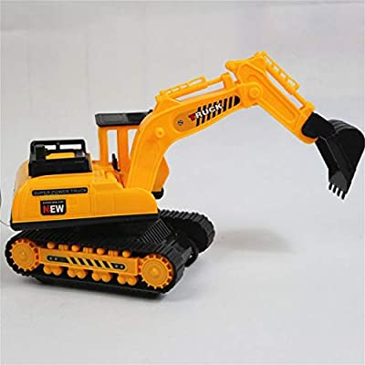 Weardear Car Excavator Kids Toy Crawler Digger Electric 2 Channel Remote Control Activity Play Centers : Baby