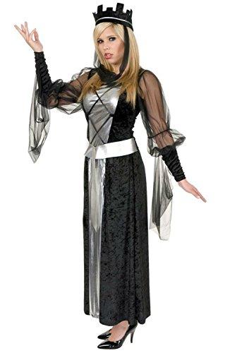 Renaissance Faire Dresses For Sale (Black Queen Adult - X-Large (14-16))