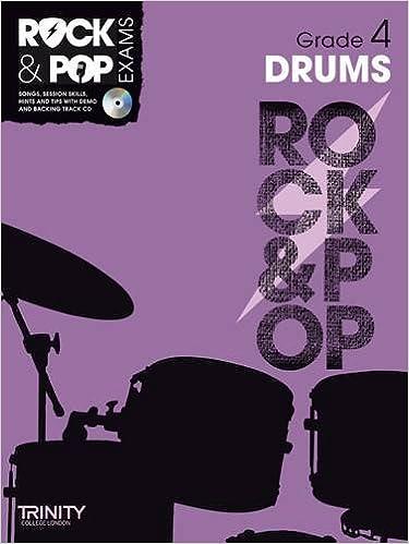 Trinity Rock & Pop Drums Grade 4: Trinity College London ...