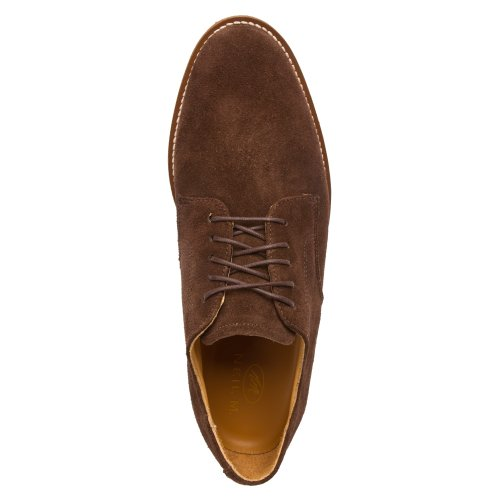 Neil M Mens Cambridge Oxford Scarpe In Pelle Scamosciata Color Cioccolato