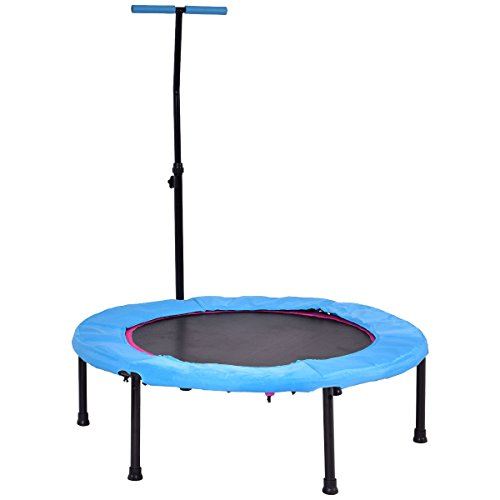 Giantex 43'' Mini Rebounder Trampoline Jump Gym Trainer Aerobic Fitness Exercise Cardio