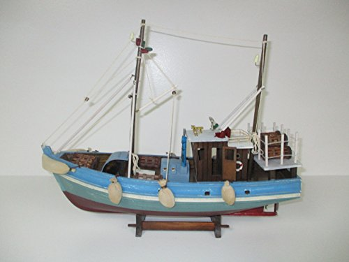 Dazzle Dees Wood Model Fishing Boat by Dazzle Dees (Image #4)