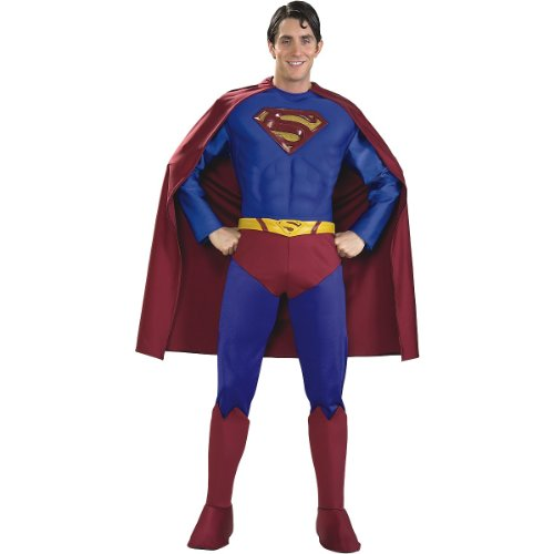 Supreme Edition Superman Adult Costume - X-Large by Rubie's Costume Co