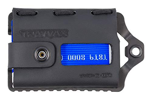 Trayvax Element Wallet (Black | Stealth Black - Tag Luggage Picture Frame