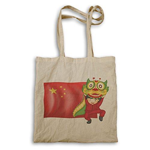 Drachentanz China Tragetasche r244r