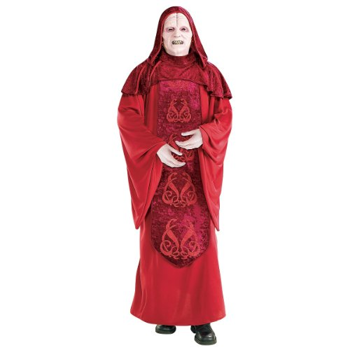 Holoween Masks (Deluxe Emperor Palpatine Adult Costume - X-Large)