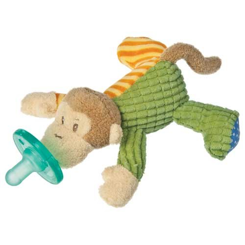 Mary Meyer WubbaNub Infant Pacifier ~ Mango Monkey