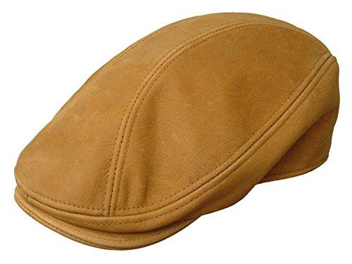 Cap newsboy Driving Gatsby Hat Tan USA (Small/Medium) ()