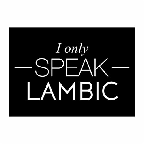 teeburon-i-only-speak-lambic-pack-of-4-stickers