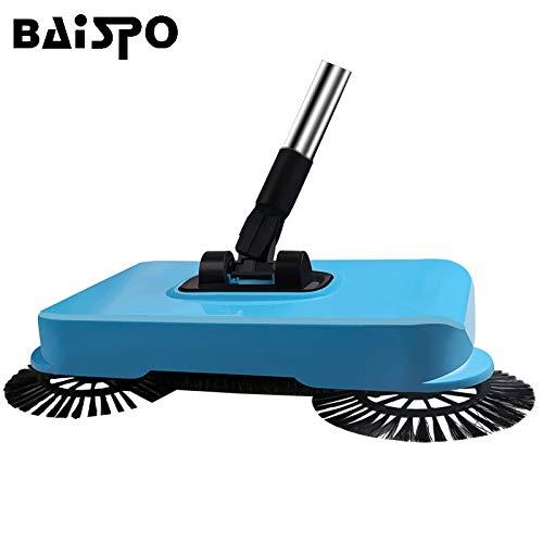 TOSHUN 1PCS Stainless Steel Sweeping Machine Hand Magic Push