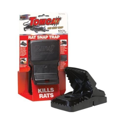 Motomco Tomcat Rat Snap Trap 33525(2Pack)