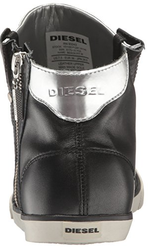 Diesel Femmes Sunrise Plage Pit W Sneaker De Mode Noir / Argent