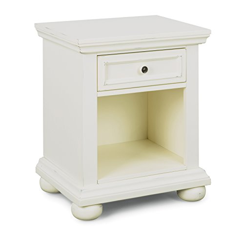 - Home Styles 5427-42 Dover Nightstand, Antique White
