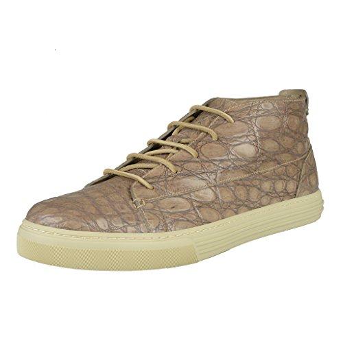 Gucci Men's Crocodile Skin Hi Top Fashion Sneakers Shoes US 10.5 IT 9.5 EU - Gucci Mens Top