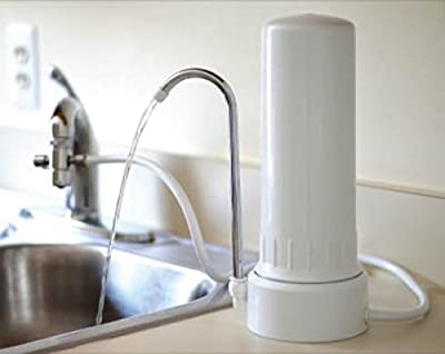 ProPur Countertop Water Filter System + ProOne G3.0 CeraBlock Filter Element by ProPur