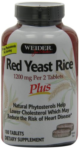Weider Red Plus with Phytosterols 1200 mg Tablets - 180