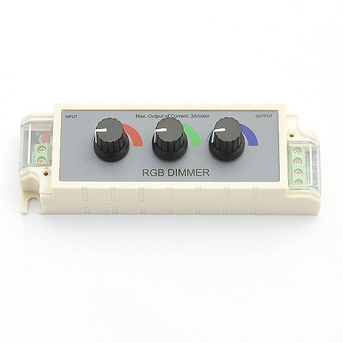 - Infinitely Color 3 Channel RGB Controller for LED Strips 12 Volt, 3314