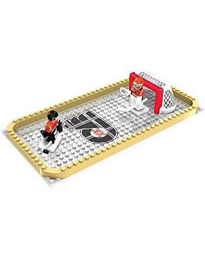 (OYO NHL Philadelphia Flyers Backyard Rink Set, Small, Black)