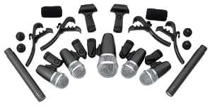 Pronomic DMS-7 - Sistema micrófonos batería