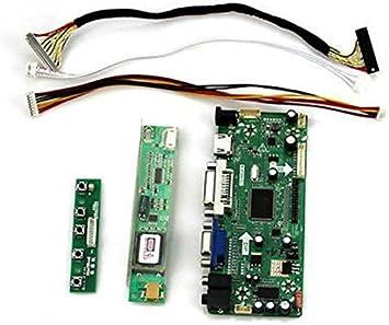 DVI VGA LCD LED Controller Driver Board kit for LTN154AT07 HDMI