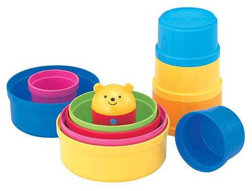 Baby Toy Cup Gasane Baby Traning Toy Colurful Piling Cups