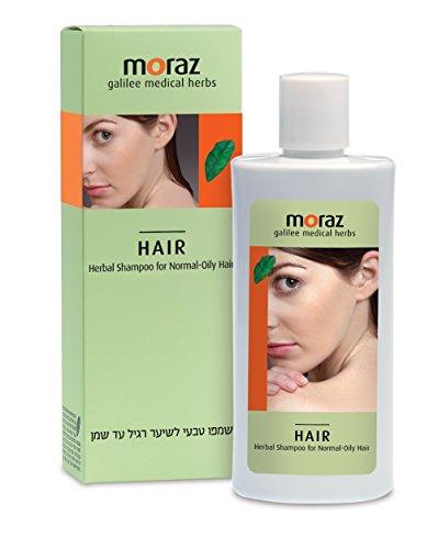Moraz Herbal Shampoo - Herbal Shampoo for Normal to Oily Hair, for shiny healthy hair, 500ml