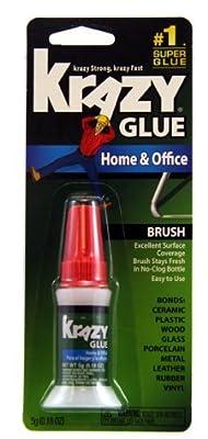 Krazy Glue KG94548R Instant Crazy Glue Home & Office Brush