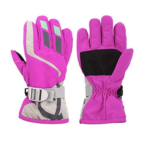 Waterproof Windproof Children Winter Warm Gloves Breathable Snow Snowboard Ski Sports Gloves