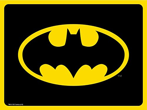 Batman DC Comics Superhero Classic Bat Logo Dog Cat Pet Place Mat (Dog Batman)
