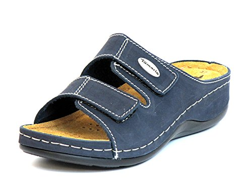 Tamaris Women Mules Blue, (Navy) 1-1-27510-26-805