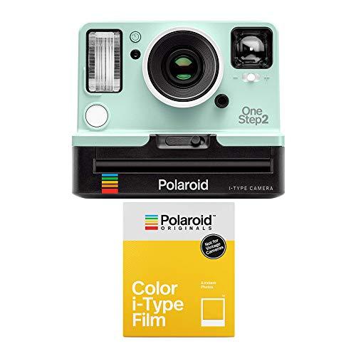 Polaroid Originals OneStep2 Viewfinder i-Type Instant Camera (Mint) and B&W Color Film