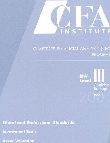 Chartered Financial Analyst (CFA) Program (CFA Level III)