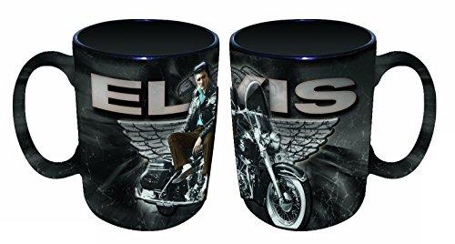 Elvis Presley Embossed Mug With -