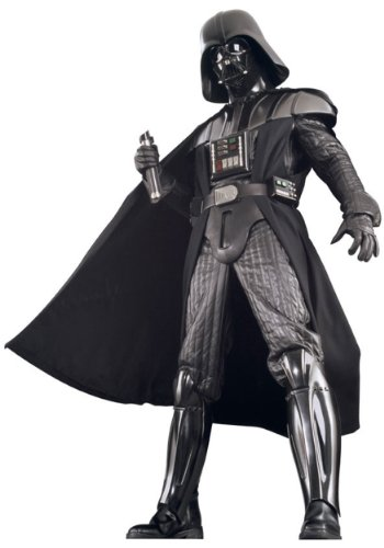 [Rubies Costume Co. Inc mens Authentic Darth Vader Costume Small] (Supreme Edition Darth Vader Adult Costumes)