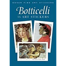 Botticelli: 16 Art Stickers
