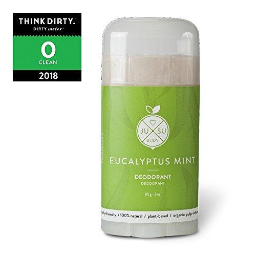 JUSU Body Eucalyptus Deodorant - 100% Natural - 3 oz - Natural Body Deodorant