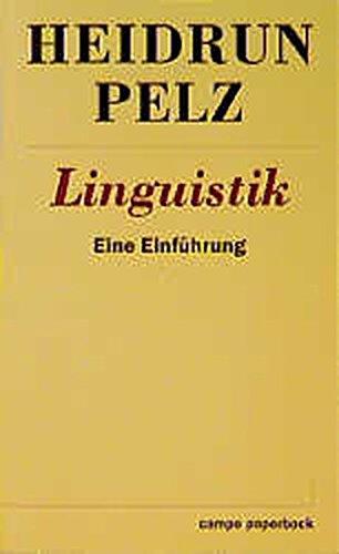 Linguistik: eine Einführung