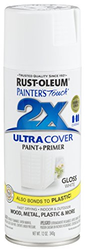 (Rust-Oleum 249090-6 PK Painter's Touch 2X Ultra Cover, 12 oz, White)