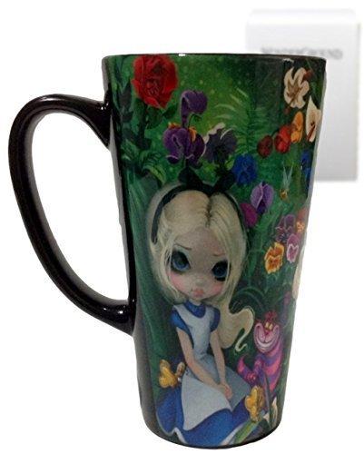 - disney parks wonderground gallery alice & garden by becket ceramic coffee mug new